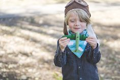 Aviator session in Anaheim |  The Petterssons | Yorba Regional Park Family Photos - Charla Blue Photography
