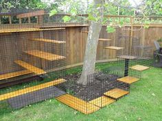 Safe Outdoor Pet Run/Cage