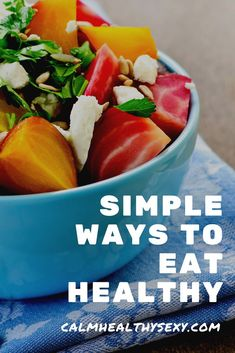Here are 15 simple things you can start doing now to eat healthier and to feed your family a healthy diet. Even if you're super busy and don't have any extra time, you can start doing one or two of these this week and begin moving toward a better diet and a healthier life. Healthy living | Healthy eating | Healthy meals #healthyeating #healthyliving #healthylifestyle Dieta Dash, Healthy Travel Snacks, Eat Healthy, Keto Snacks, Healthy Meals, Breakfast Healthy, Quick Meals, Healthy Habits, Healthy Skin