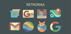 RETRORIKA ICON PACK v1.6  Miércoles 30 de Septiembre 2015.By : Yomar Gonzalez ( Androidfast )   RETRORIKA ICON PACK v1.6 Requisitos: 4.0 Descripción: Bienvenido a tus bellos recuerdos! RETRORIKA se dibuja bien manualmente basado en material de diseño Guía de Google con la paleta de cosecha va a cambiar su dispositivo para que sea más bella! Características: 1. 2600 iconos inspirados en el diseño de materiales Fondos de escritorio basado en la nube 2. 90  HD 3000x2675 px 3. XXXHDPI Icono…