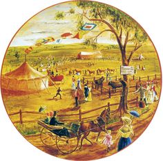 Sydney Royal Easter Show through the years - the first show in 1823.