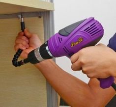 Snake Bit: A Flexible Drill Bit Adapter To Get Into Tight Spots