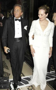 """Italian designer Valentino: """"I met Ms Streep years ago in Los Angeles. She is a wonderful lady – so intelligent and cultivated. She is a great, great, great artist, a sensational actress."""""""