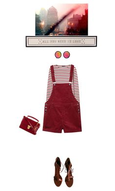 """Something New"" by finding-0riginality ❤ liked on Polyvore featuring Saint James, Monki, LULUS, Lemaire and Yves Saint Laurent"