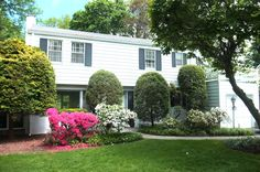 Summer at 154 Crest Drive in Tarrytown NY.  A lovely Colonial for sale.