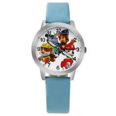 2018 High Quality Children Boys Dinosaur Anime Cartoon Quartz Watches Little Kids Casual Luminous Hands Leather Wrist Watches Quality And Quantity Assured Children's Watches