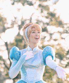 What a happy princess