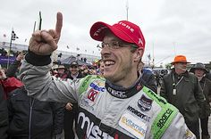 NDYCAR: KVSH Racing-Chevrolet's Sebastien Bourdais scored his second victory in as many years after holding off Takuma Sato (AJ Foyt Racing-Honda) and Graham Rahal (Rahal Letterman Lanigan Racing-Honda) in a five-minute sprint to the checkers, following a late-race stoppage. RACER.com