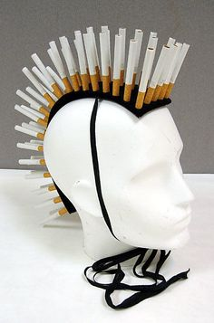 Fag  Stephen Jones  (British, born 1957)    Date:      2006  Culture:      British  Medium:      wool, paper, tobacco, silk, cotton