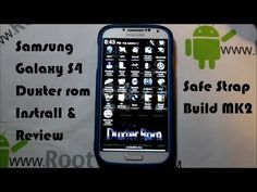 Samsung Galaxy S4 Duxter rom MK2 SS install and review