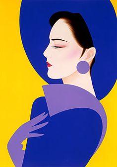Japanese Painting, Japanese Art, Pinturas Art Deco, Pics Art, Art Deco Posters, Commercial Art, Arte Pop, Art Plastique, Traditional Art