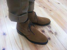 KOKON FactoryMade「410」ブラウンスエード #gloucesterroad #KOKON #shoes #yokohama
