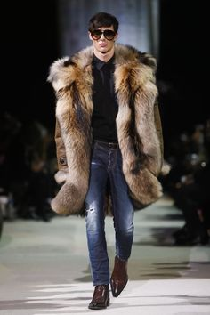 Dsquared2 Menswear Fall Winter 2015 Milan