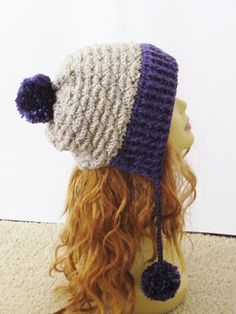 Eden Ear Flap Hat Crochet Pattern, Sizes 0-3 months to Woman More