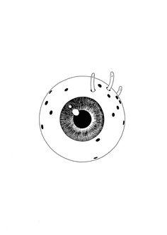 Mrzyk & Moriceau / Petra Mrzyk / Jean-François Moriceau / Drawings / Artists / Eyes / Print / Illustration / Art