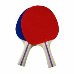 Franklin Sports 2 Player Paddle Set (Red/Blue) by Franklin. $9.86. Franklin Sports 2 Player Paddle Set includes 2 pips-out rubber paddles and 3 standard table tennis balls. They feature 5-ply select hardwood laminate blade and a straight handle for easy play.