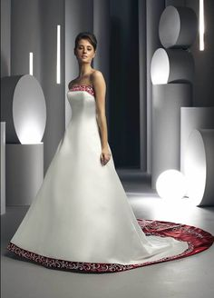 You can convert your wedding gown into a party gown and dazzle on the floor