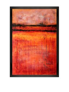 Lisa Carney Inside The Volcano Oil Painting at MYHABIT