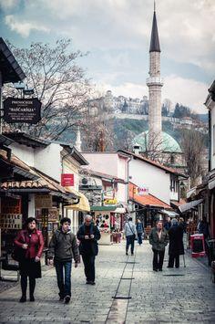 Sarajevo, courtesy Michal Huniewicz