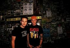 Mark Hoppus and Tom Delonge