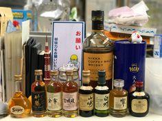 whisky 机の上コレクション