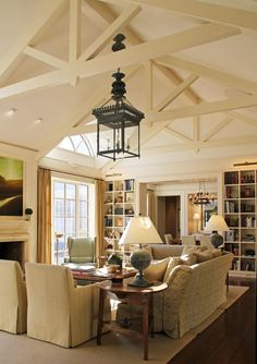 SMC frt den ~ use this room for inspiration. [Family Room - Menzer charisma design]