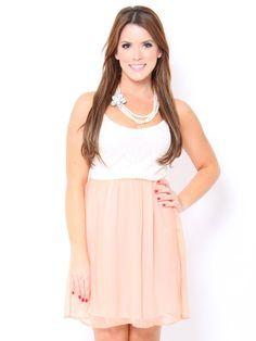#Lace Chiffon #Dress
