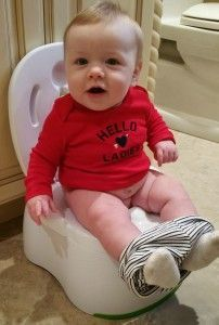 Potty training at 6 months