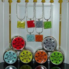 T@B Trailer Scrabble Tile Necklace