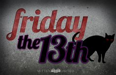 Friday The Graphic - Black Cats and Superstition - Mittun Creative Design