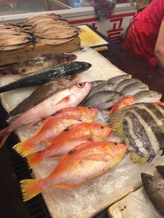 Île de jeju, poisson du marché