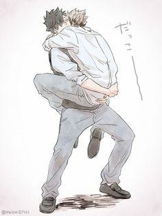 #bokuto #kuroo #hq