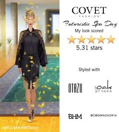 Futuristic Spa Day @covetfashion #covet #covetfashion #fashion #covetfall2015 #fall2015 #futuristic #Mystique #BCBGMAXAZRIA #RodrigoOtazu