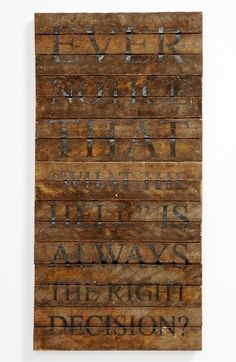 Second Nature By Hand Repurposed Wood Wall Art available at #Nordstrom