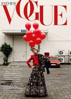 awesome Bhumika Arora takes on the streets of Bandra for Bharat Sikka's lense in Vogue India October 2015  [fashion]