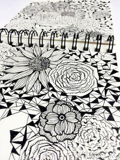 a peek inside my sketchbook - alisaburke