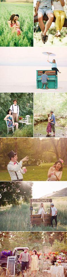 24 Beautiful Summer Engagement Photos