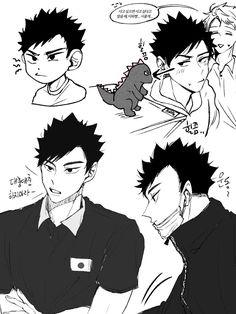 Haikyuu Iwaizumi, Iwaoi, Haikyuu Fanart, Assassination Classroom Funny, Ushijima Wakatoshi, Artist Problems, Haikyuu Ships, Hot Anime Guys, Cool Artwork