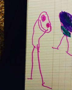 Mais maman!...c'est Jack !  #dessinsdenfants #dessin #enfant #jack #nightmarebeforechristmas #kiddrawing by bickette_van_kroot