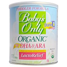 Babys Only Toddler Formula LactoRelief with DHA  ARA 127 Ounce Pack of 6 ** To view further for this item, visit the image link.