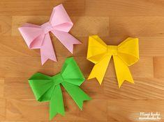 Papír masni készítése – Origami Origami, Diy Paper, Scrapbook, Napkins, Tableware, Crafting, Dinnerware, Towels, Dinner Napkins