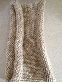 Chunky knit neutral  cowl by FrenchyKnits on Etsy, $40.00