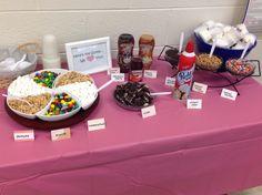 Ice Cream Bar for Teacher Appreciation Week