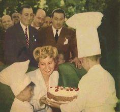 Cumpleaños Eva Peron.