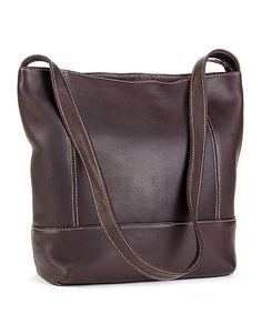 Another great find on #zulily! Café Everyday Leather Hobo by Le Donne #zulilyfinds