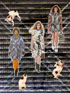 Japanese Cats On Stage RESORT 2018 - Louis Vuitton @louisvuitton #louisvuitton #resort #2018 #tekdesen #design #studio #textiles #print #printdesign #bursa #turkey #fashion #show #style #hulyayalcin #japanese #cat #trendy #board #colors #catwalk