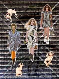 Japanese Cats On Stage RESORT 2018 - Louis Vuitton @louisvuitton #louisvuitton #resort #2018 #tekdesen #design #studio #textiles #print #printdesign #bursa #turkey #fashion #show #style #hulyayalcin #japanese #cat #trendy #board #colors #catwalk