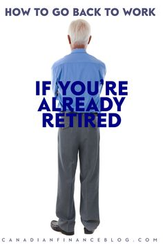 People in retirement are looking for a new career in their post-career life. Here are some things that might give you an edge to go back to work.