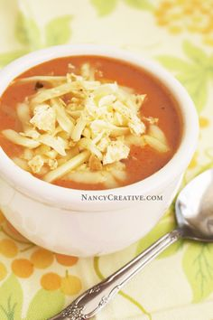 BZ's Chicken Tortilla Soup