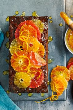 This show-stopping bake is a celebration of glorious citrus fruits. The sweet, tangy loaf is a delicious teatime treat, while the marmalade tastes heavenly spread over toast for a get-up-and-go breakfast.   Tesco